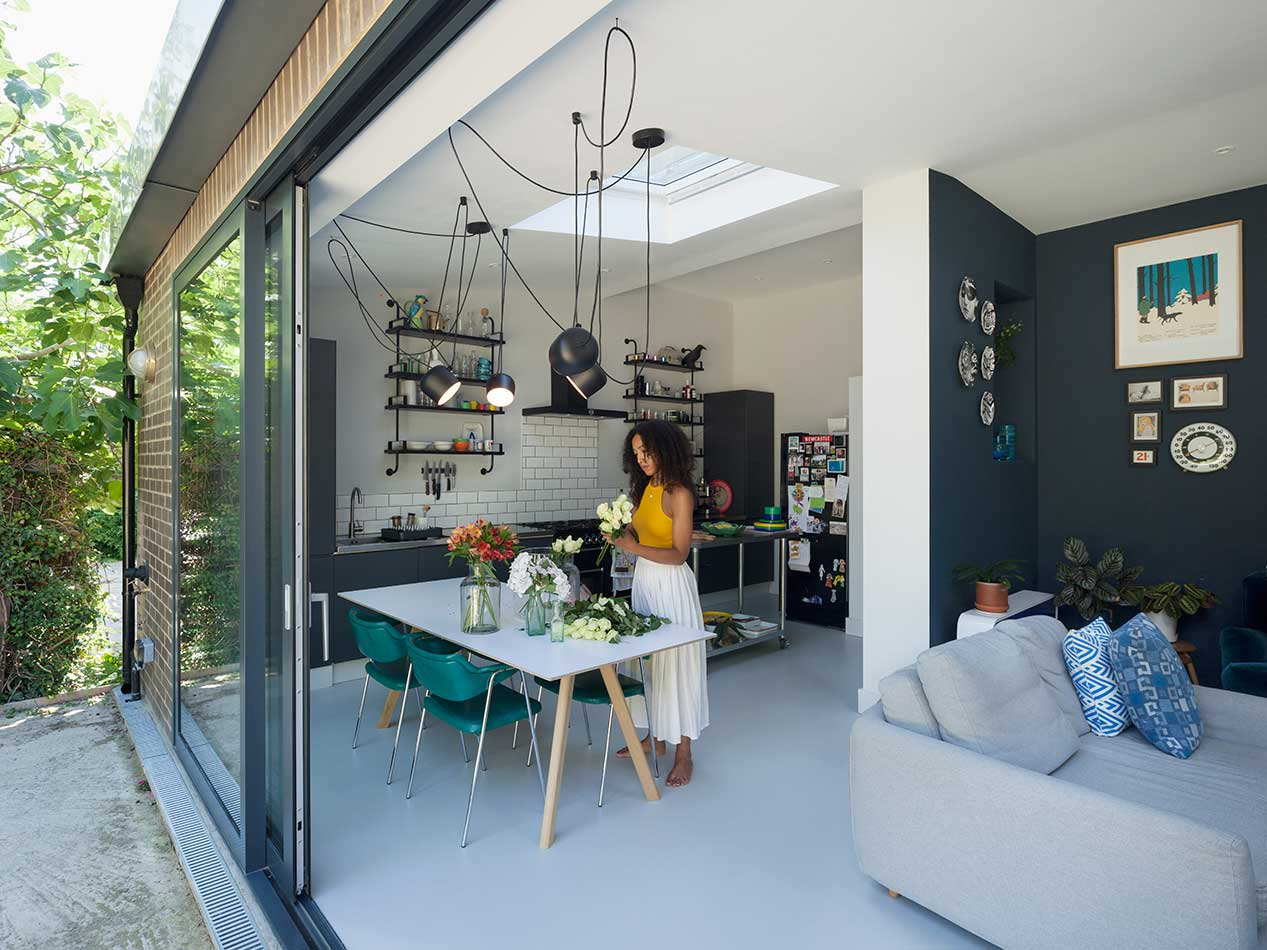 architecture in stoke newington by douglas architects
