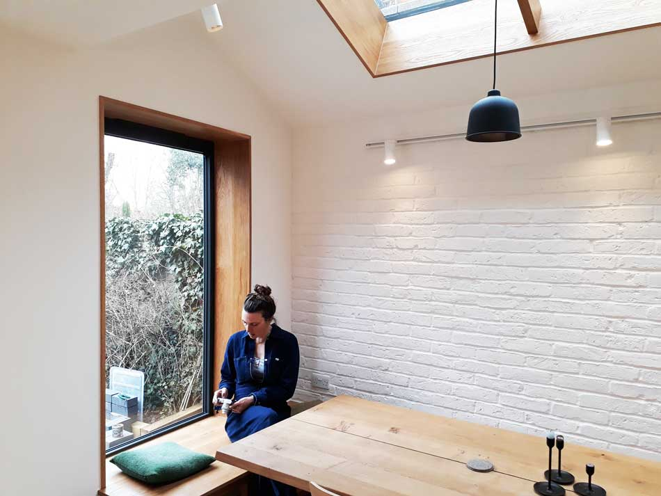 glazed extension in stoke newington douglas architects