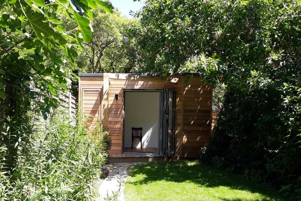 garden office by Douglas Architects N1