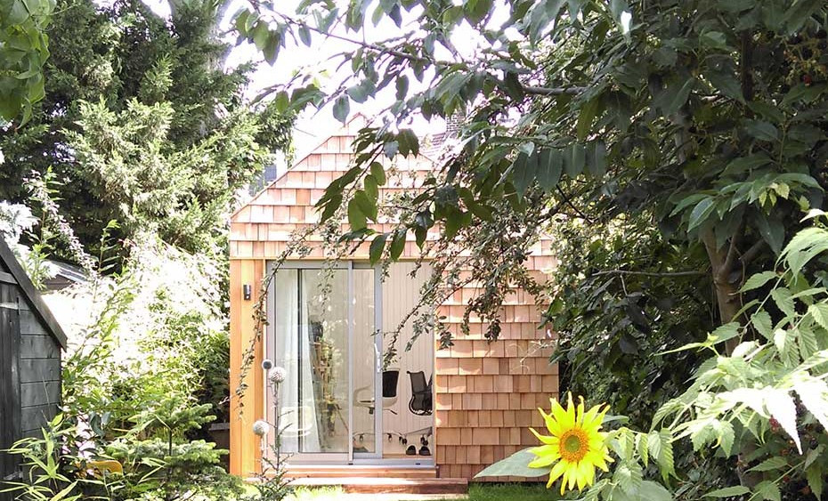 garden studio and office in stoke newington hackney